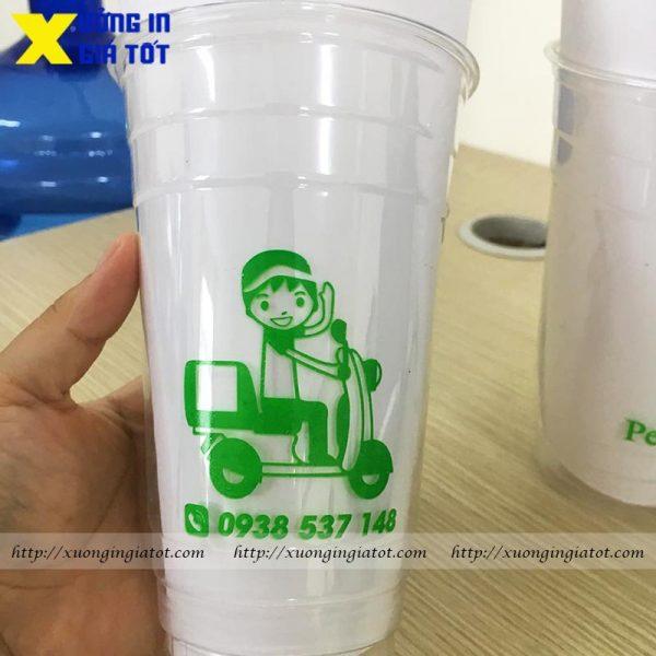 Ly trà sữa Pet 700ml