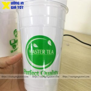 Ly trà sữa Pet 700ml