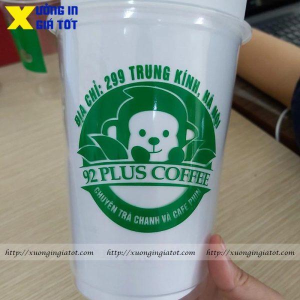 Ly trà sữa PP 1000ml
