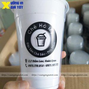 Ly trà sữa PP 400ml