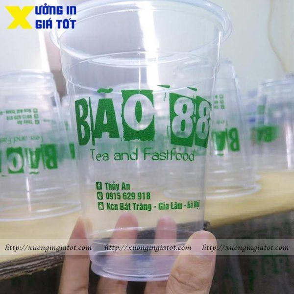 Ly trà sữa PP 500ml