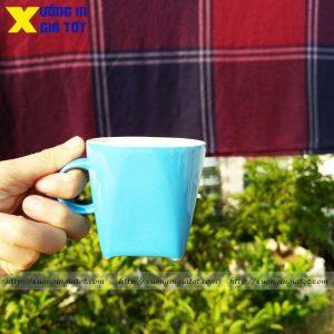 Tách cà phê Cappuccino dáng vuông- CF05