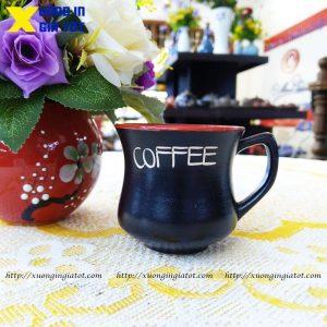 Tách cà phê Latte dáng eo- CF06