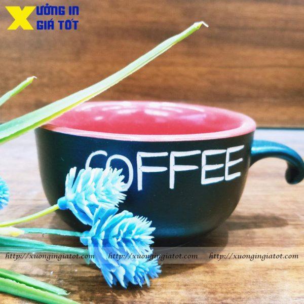 Tách cà phê Cappuccino men mát lòng đỏ- CF07