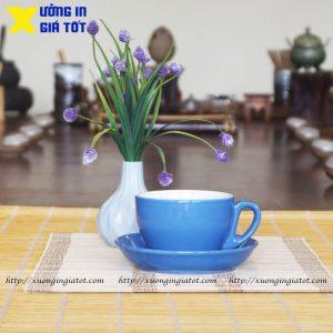 Tách cà phê Cappuccino xanh