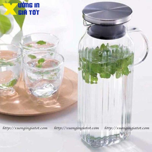 Dịch vụ in bình thủy tinh chất lượng, giá tốt nhất tại Hà Nội